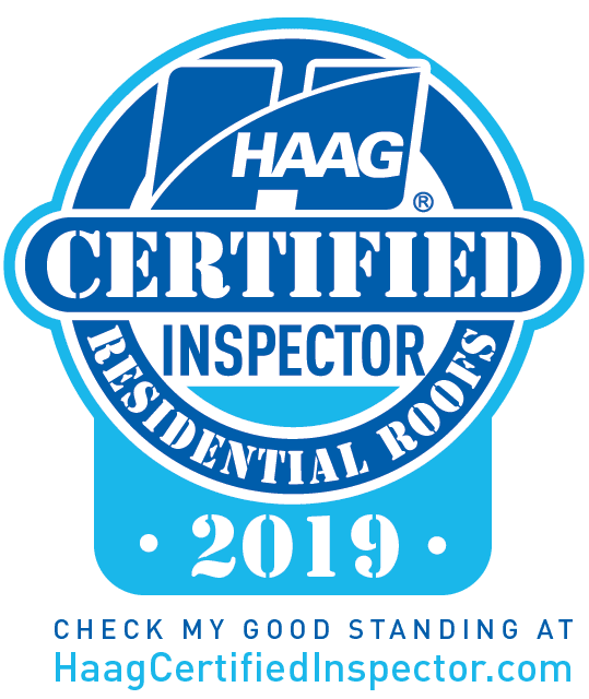 HAAG Certified Residential Roofing Inspector 2019
