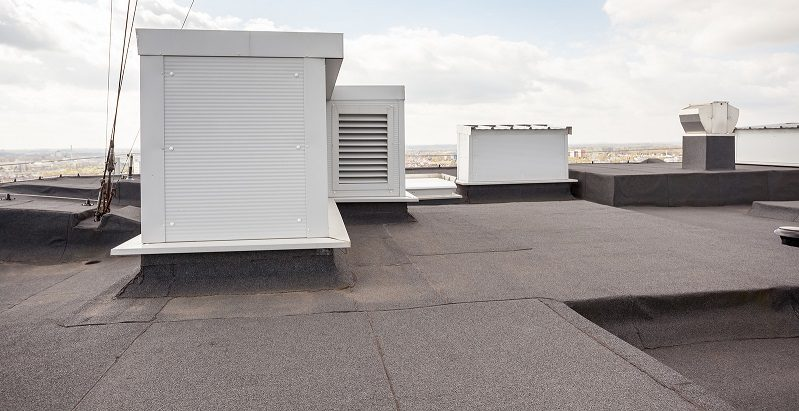 commercial roofer will maintain the roof