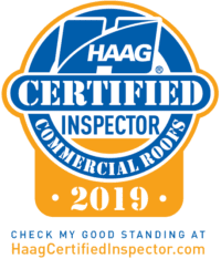 HAAG Certified Commercial Roofing Inspector 2019