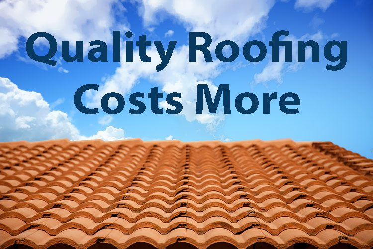 quality roof repairs and replacement