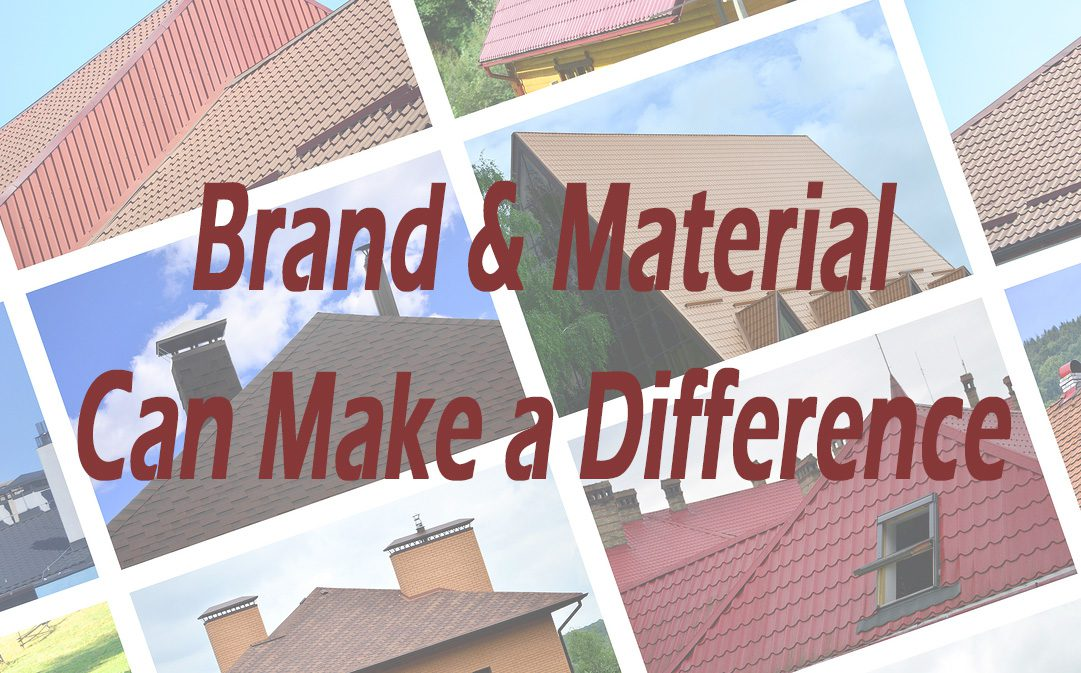 asphalt, tile and metal roofing are different in many ways